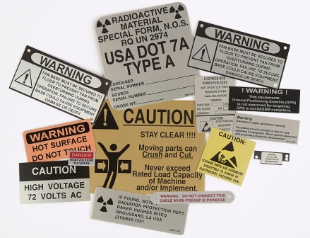 Metalphoto labels