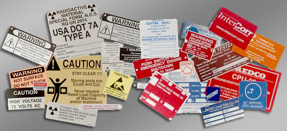 metalphoto and aluminum labels, decals & stickers