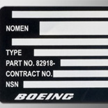 Type-On Metal Label